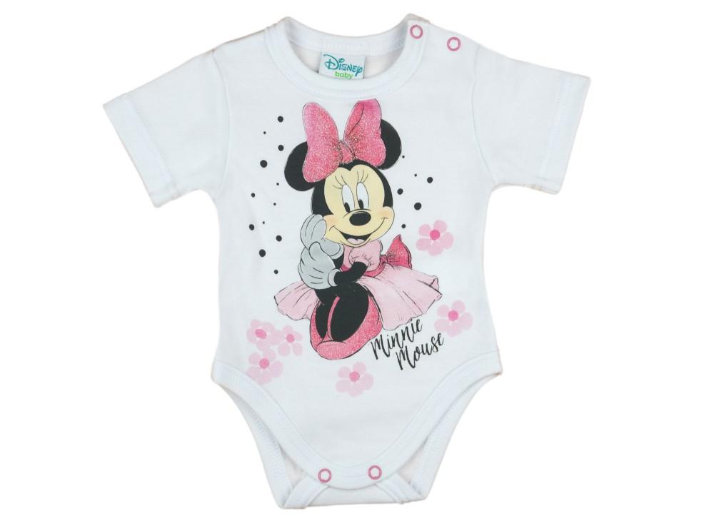 a85c5f9438 Disney Minnie rövid ujjú kombidressz fehér - Babaruha | Gyerekruha ...