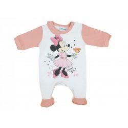 Disney Minnie hosszú ujjú rugdalózó pasztell