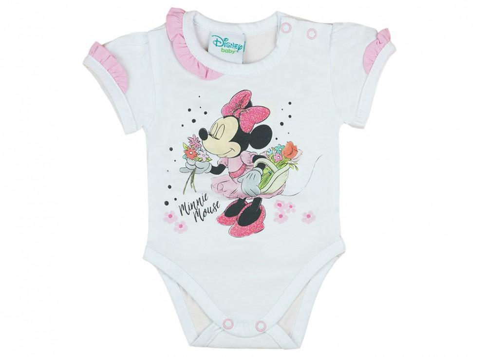 Disney Minnie rövid ujjú kombidressz fodros - Babaruha  bb3b74a3cc