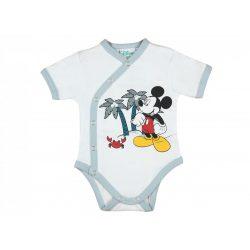 Disney Mickey elején patentos rövid ujjú kombidres