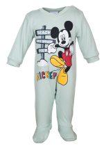 Disney Mickey hosszú ujjú vékony rugdalózó