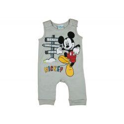 Disney Mickey ujjatlan vékony rugdalózó