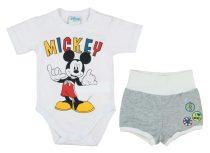 Disney Mickey fiú 2 részes kombidressz/short szett
