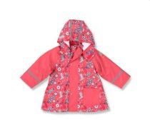 Sterntaler Vízálló Gyermek esőkabát levehető kapucnival - Rózsaszín