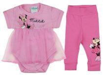Disney Minnie 2 részes tüllös kombidressz/nadrág szett