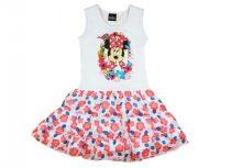 Disney Minnie ujjatlan virágos muszlin aljú ruha