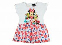 Disney Minnie virágos muszlin aljú, nyitott vállú