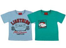 Disney Verdák/Cars rövid ujjú póló 2db szettben