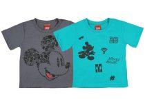 Disney Mickey fiú rövid ujjú póló 2 db szettben