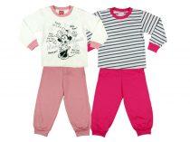 Disney Minnie lányka páros hosszú pizsama szett (2db)