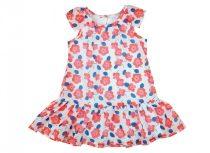 Virágos muszlin lányka nyári ruha