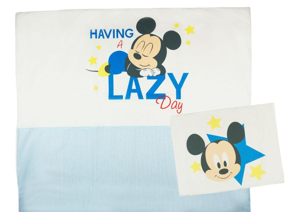 Disney Mickey fiú 2 részes ágynemű szett csíkos betéttel cc51162e16