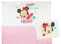 Disney Minnie lányka 2 részes ágynemű szett rózsaszín betéttel