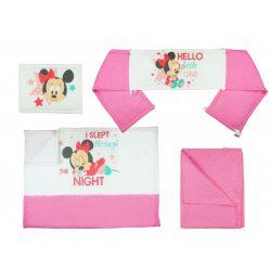 Disney Minnie 4 részes ágynemű garnitúra