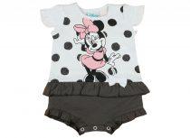Disney Minnie lányka rövid ujjú napozó fodros