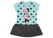 Disney Minnie glitteres, pöttyös rövid ujjú lányka
