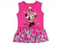 Disney Minnie lányka ujjatlan, alul virágos ruha