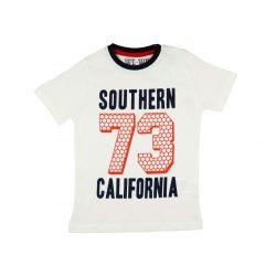 Fiú rövid ujjú póló Southern felirattal 57e705e5e4