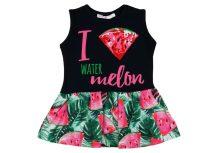 Lányka nyári ujjatlan ruha dinnye