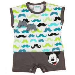 Disney Mickey bajusz mintás baba napozó