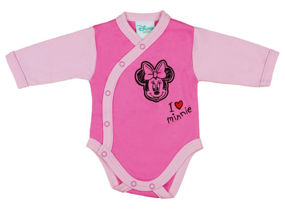 Disney Minnie lányka hosszú ujjú kombidressz elöl patentos ... 84629dec66
