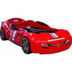 Cilek BITURBO autós ágy (piros) (90x195 cm)