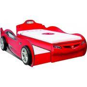 Cilek COUPE autós ágy - kihúzható vendégággyal (90