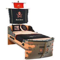 Cilek BLACK PIRATE S hajós ágy (90x190 cm)