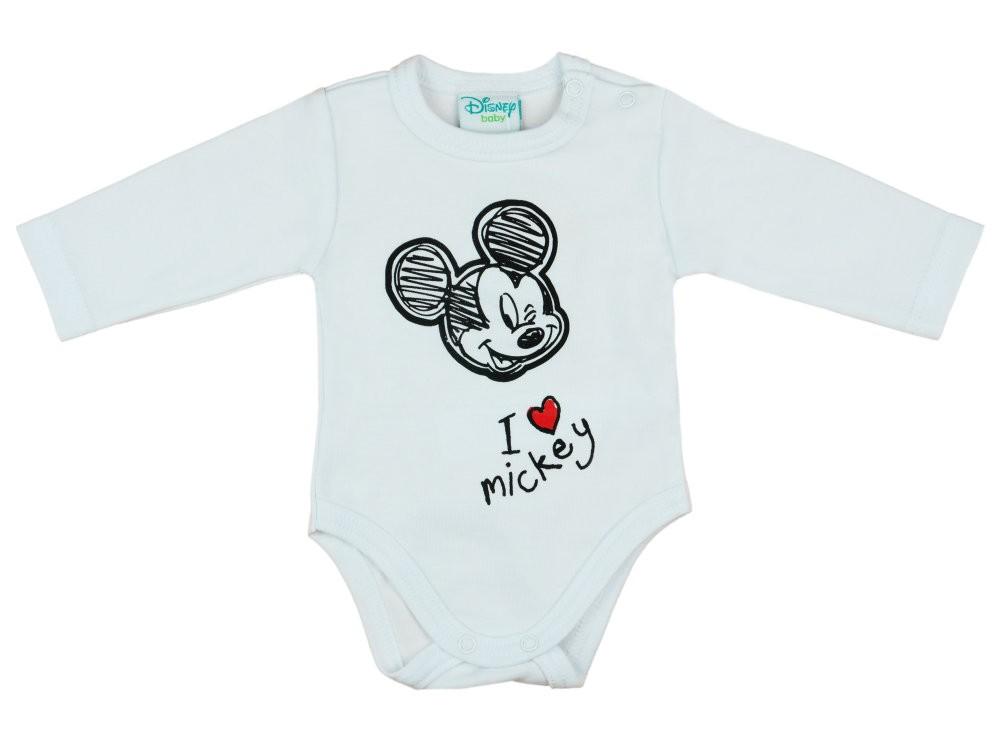 Disney Mickey fiú hosszú ujjú kombidressz - Babaruha  11768994b1