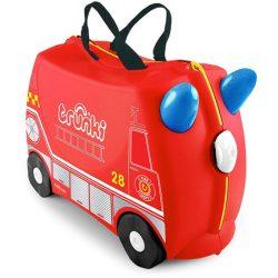 Trunki gyermek bőrönd - Frank, a tűzoltó