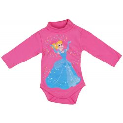 Disney Princess/Hercegnők lányka garbós, hosszú uj