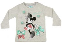 Disney Minnie bébi lányka hosszú ujjú póló masni