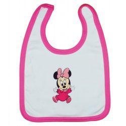 Disney Minnie mintás tépőzáras előke