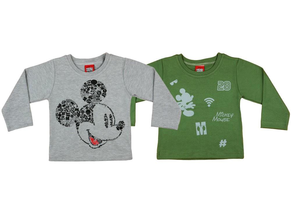 Disney Mickey fiú hosszú ujjú póló párban (2db) 108d230c9f