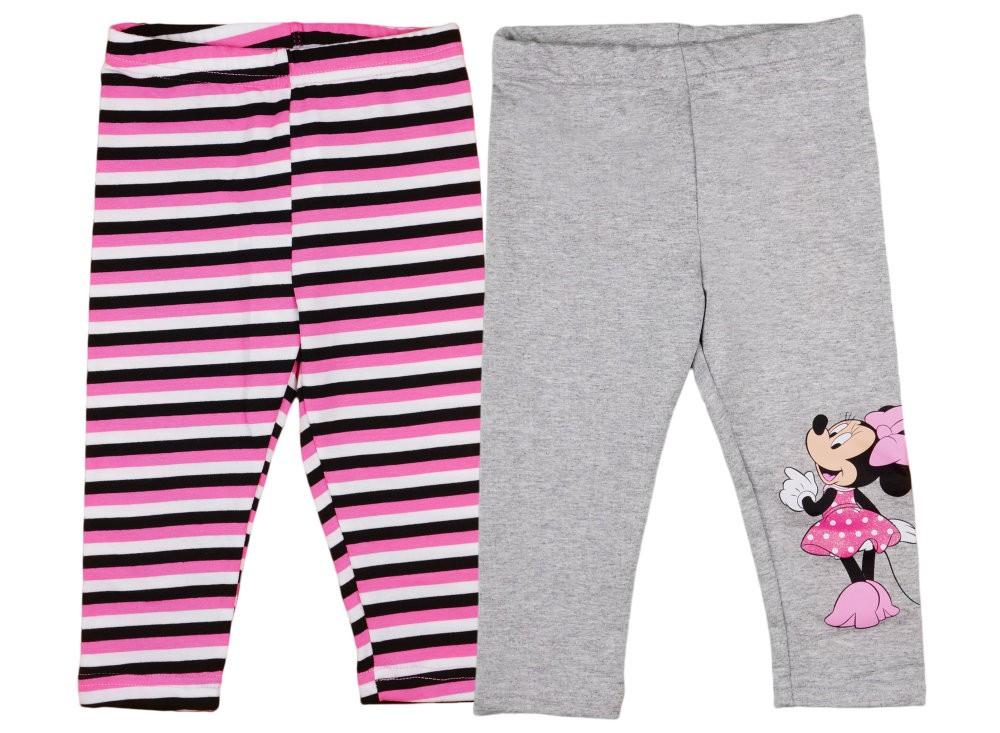 21222a92e2 Disney Minnie mintás/csíkos lányka páros leggings szett (2db)