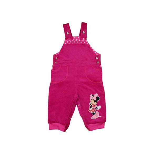 Disney Minnie lányka bélelt kord kertésznadrág 9637982dd0