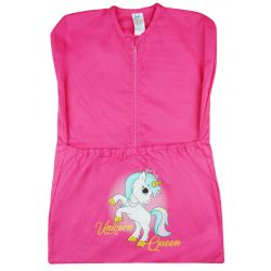 Unicorn Queen - vállfás oviszsák - pink