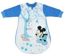 Disney Mickey belül bolyhos, hosszú ujjú hálózsák 2,5 TOG