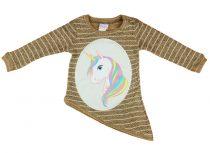 Unikornis lányka pulóver