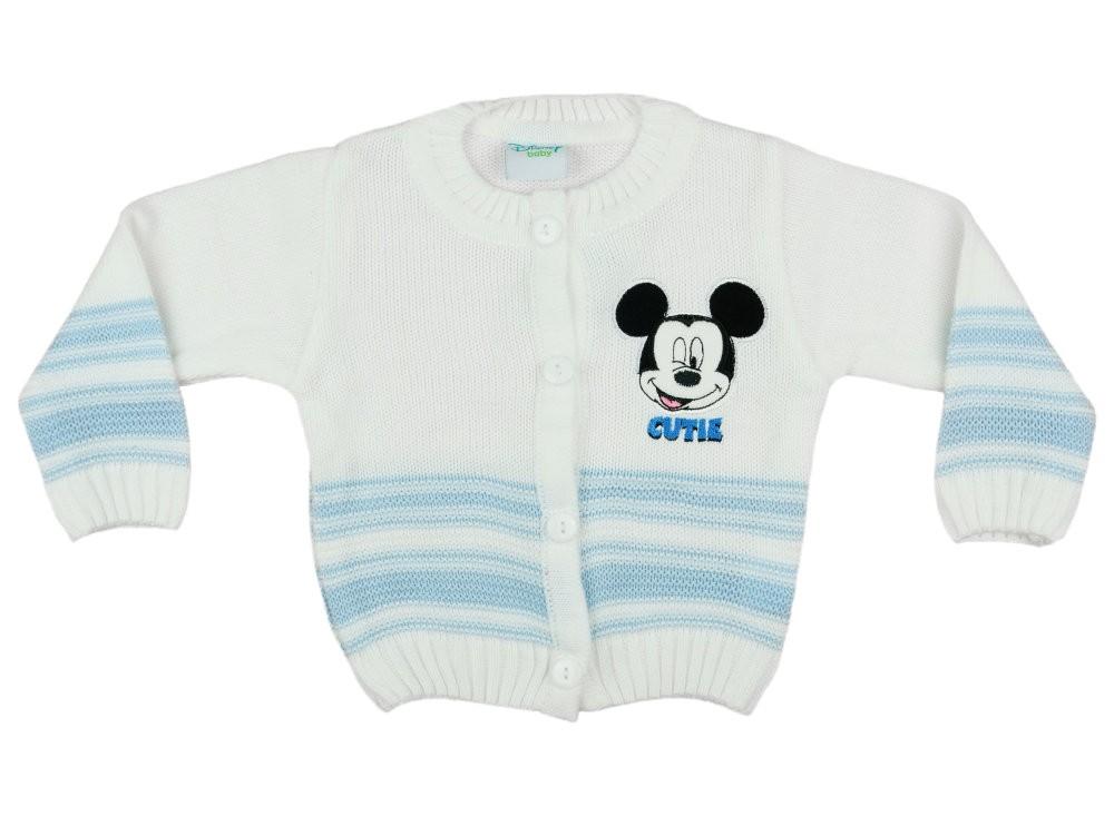 68ad2ff6e0 Disney Mickey fiú kötött kardigán - Babaruha | Gyerekruha ...