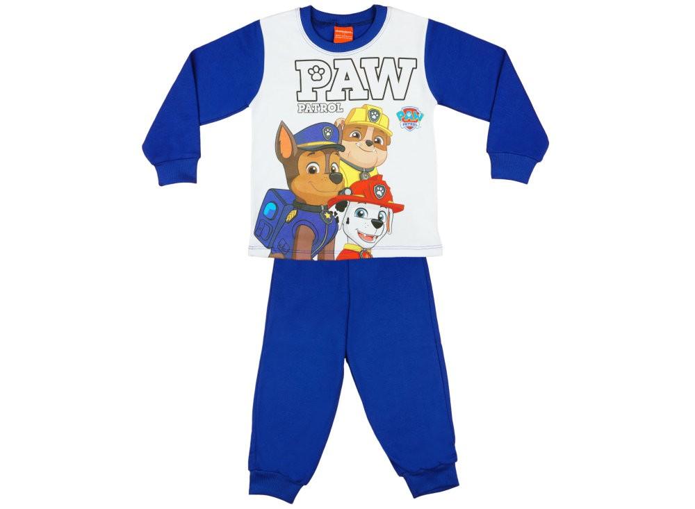 Paw Patrol-Mancs őrjárat fiú hosszú pizsama - Babaruha  3661d4e2ee
