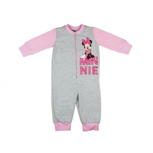 Disney Minnie belül bolyhos lányka overálos pizsam