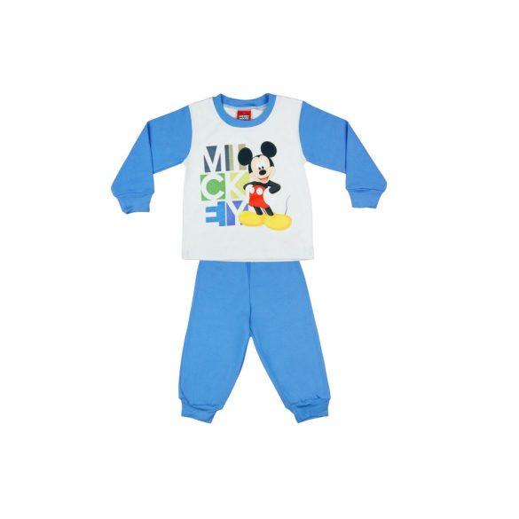 e8dc72fa65 Disney Mickey mintás fiú pizsama felirattal .