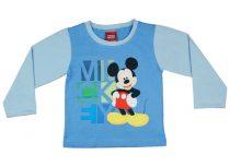 Disney Mickey fiú hosszú ujjú póló kétszínű