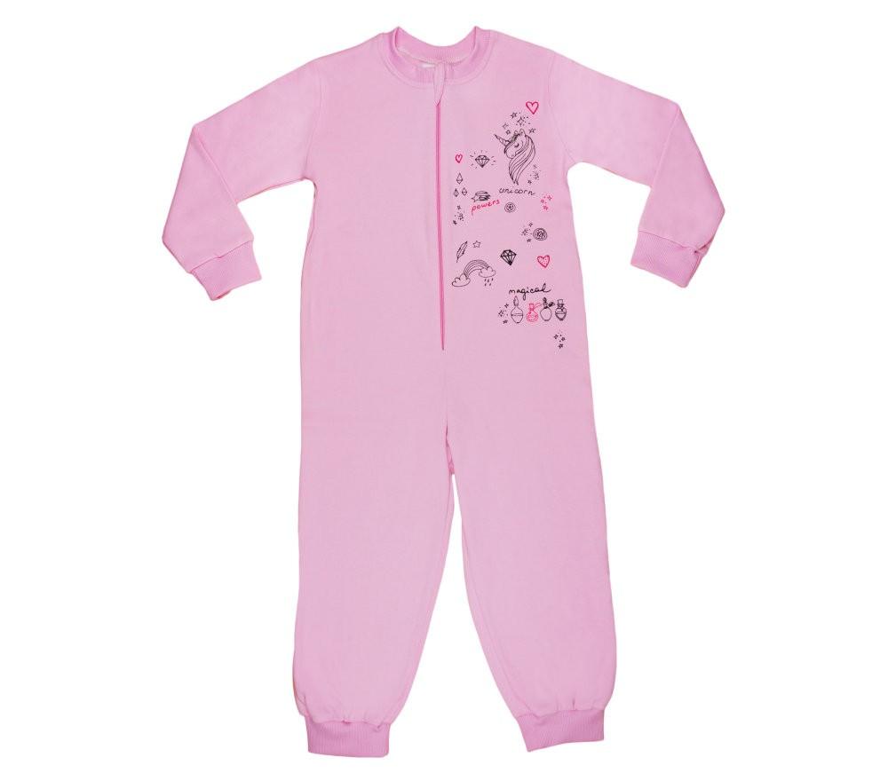 Unikornis lányka overálos pizsama b4579715b3