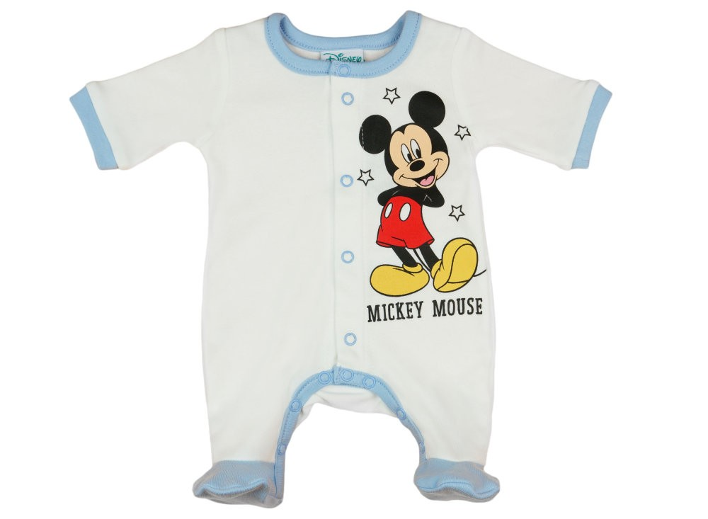 Disney Mickey elöl patentos hosszú ujjú rugdalózó (inter) d8b8d3fc08
