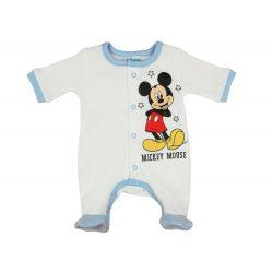 Disney Mickey elöl patentos hosszú ujjú rugdalózó
