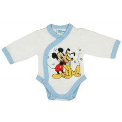 Disney Mickey és Plútó elöl patentos, hosszú ujjú
