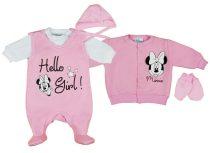 Disney Minnie lány újszülött 5 részes, belül bolyh
