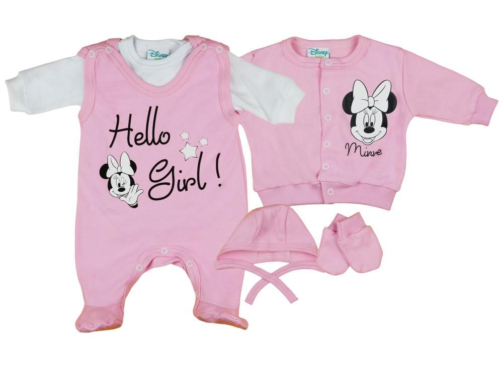 Disney Minnie lány újszülött 5 részes szett Hello Girl! e94cd4e2da
